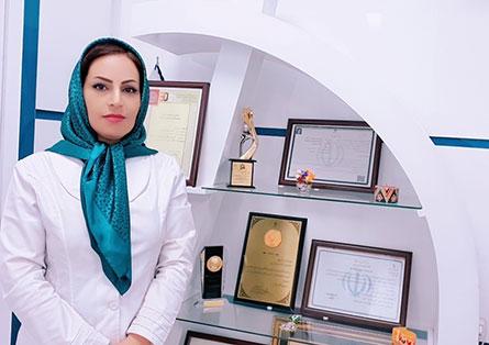 دکتر آسیه رضوانی متخصص سونوگرافی و رادیولوژی - مدیر موسسه نسیم پرتو